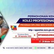 Semakan Keputusan Permohonan Rayuan Kemasukan Ke Program Diploma Kolej Profesional Mara Kpm Sesi 3 2020 Ambilan November Majlis Amanah Rakyat
